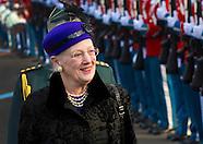 Arrival King Willem-Alexander and Queen Maxima in Copenhagen,17-03-2015