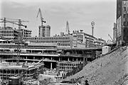 Sergels torg under byggnad