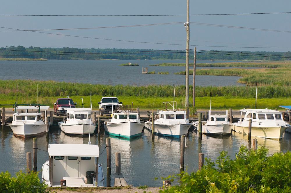Fishing boats, Kent Narrows, Maryland USA