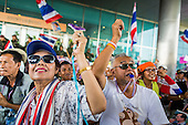 PDRC Protest at Ministry of Justice