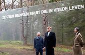 Koning Willem Alexander opent de Nationale Veteranenbegraafplaats Loenen