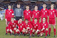 Fotball<br /> Foto: Digitalsport<br /> Norway Only<br /> <br /> FRIENDLY GAMES<br /> ANDALUSIA v LATVIA<br /> 27.12.2003<br /> TEAM LATVIA ( BACK ROW LEFT TO RIGHT : ALEKSANDERS ISAKOVS / ALEKSANDERS KOLINKO / VITS RIMKUS / DZINTARS ZIMIS / ARTURS ZAKRESEVSKIS / MARIS SMIRNOVS . FRONT ROW : ANDREJS RUBINS / KRISTAPS BLANKS / VIKTORS DOBRECOVS / IGORS KORABLOVS / JURGIS PUCINSKS )<br /> PHOTO JEAN MARIE HERVIO