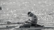 Brandenburg. GERMANY. GBR LM1X. Jamie KIRKWOOD.<br /> 2016 European Rowing Championships at the Regattastrecke Beetzsee<br /> <br /> Sunday  08/05/2016<br /> <br /> [Mandatory Credit; Peter SPURRIER/Intersport-images]