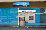 Bank Leumi Automatic Teller Machine (ATM) Photographed in Tel Aviv, Israel