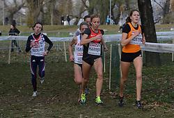08-12-2013 ATHLETICS: SPAR EC CROSS COUNTRY: BELGRADE<br /> -23 Vrouwen op de 6 km / Corinna Harrer DUI, Maureen Koster<br /> ©2013-WWW.FOTOHOOGENDOORN.NL