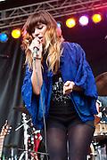 Nicole Atkins at the 2010 Union County Music Festival, Clark, NJ.