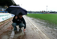 Photo: Tom Dulat/Richard Lane Photography.<br /> <br /> Hull City v Colchester United. Coca Cola Championship. 19/01/2008. <br /> <br /> Game between Hull City and Colchester United has been called off by a referee due to bad weather conditions.