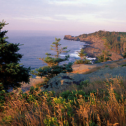 Monhegan Island, ME. Cliffs.