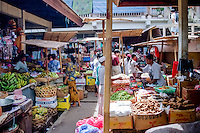 Bali, Gianyar, Ubud. On the market in Ubud you can by everything from souvenirs to fruit and vegetables.