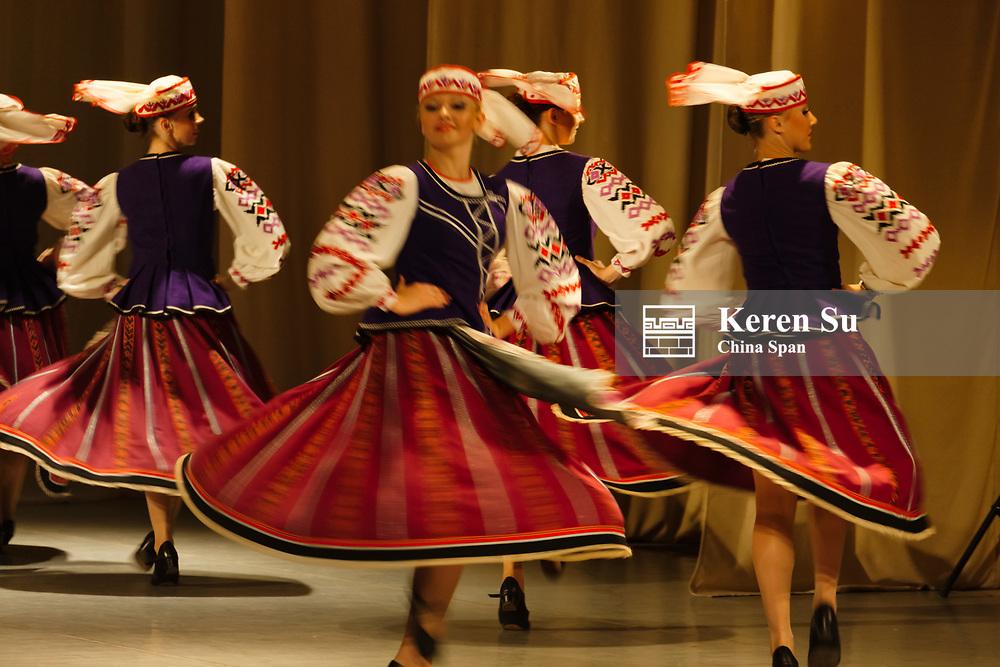 Folk dance performance, Belarus