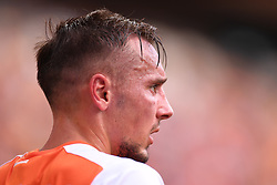 October 22, 2017 - Brisbane, QUEENSLAND, AUSTRALIA - Eric Bautheac of the Roar (#22) looks on during the round three Hyundai A-League match between the Brisbane Roar and the Newcastle Jets at Suncorp Stadium on October 22, 2017 in Brisbane, Australia. (Credit Image: © Albert Perez via ZUMA Wire)