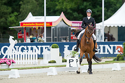 Gustafsson Sandra, (SWE), Kaminskij<br /> CIC3* Luhmuhlen 2015<br /> © Hippo Foto - Dirk Caremans<br /> 19/06/15