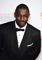 Idris Elba attending the House of Fraser BAFTA TV Awards 2016 at the Royal Festival Hall, Southbank, London. PRESS ASSOCIATION Photo. Picture date: Sunday 8th May 2016. See PA Story SHOWBIZ Bafta. Photo credit should read: Ian West/PA Wire
