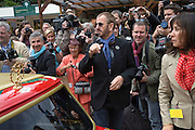 RINGO STARR AND OLIVIA HARRISON. Opening day of the Chelsea Flower Show. Royal Hospital Grounds. London. 19 May 2008 *** Local Caption *** -DO NOT ARCHIVE-© Copyright Photograph by Dafydd Jones. 248 Clapham Rd. London SW9 0PZ. Tel 0207 820 0771. www.dafjones.com.
