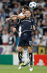 05-04-2011 VOETBAL: UEFA CL REAL MADRID - TOTTENHAM HOTSPUR: MADRID<br />  Rafael van der Vaart against  Ricardo Carvalho<br /> *** Netherlands only ***<br /> ©2010-FRH- NPH/ Alvaro Hernandez