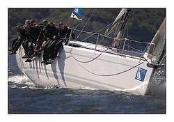 The Brewin Dolphin Scottish Series, Tarbert Loch Fyne..GBR51R  Argie Bargie CCC King 40 Allan Hogg..Credit : Marc Turner / PFM
