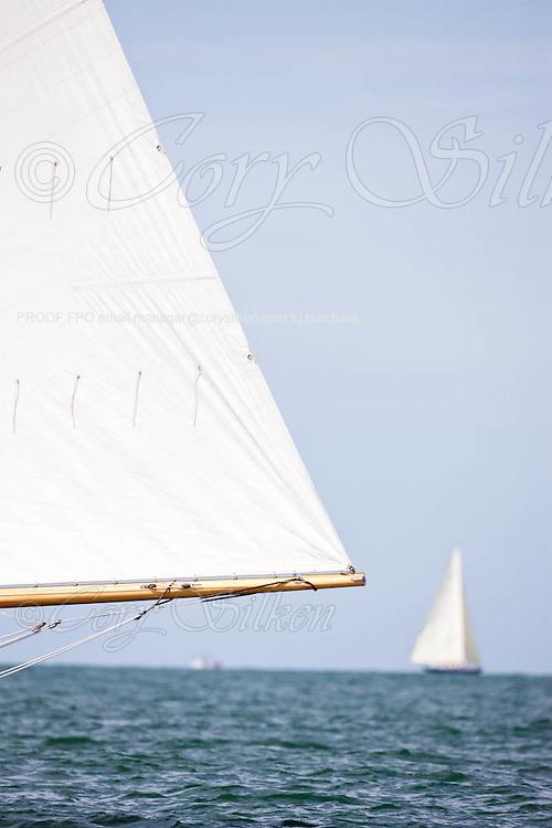 Nellie sailing in the Opera House Cup Regatta.