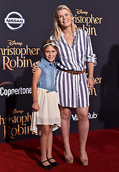 """Premiere of Disney's """"Christopher Robin"""". Walt Disney Studios, Los Angeles, California. Pictured: Alison Sweeney and daughter Megan Sanov. EVENT July 30, 2018. 30 Jul 2018 Pictured: Alison Sweeney,Megan Sanov. Photo credit: AXELLE/BAUER-GRIFFIN/MEGA TheMegaAgency.com +1 888 505 6342"""