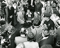 1975 Roy Clark's Walk of Fame ceremony