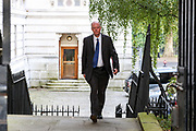 The government's chief medical officer Chris Whitty arrives in 10 Downing Street, London, ahead of a Cabinet meeting at the Foreign and Commonwealth Office on Wednesday, Sept 30, 2020. (VXP Photo/ Vudi Xhymshiti)