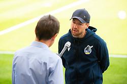 Bristol Rovers manager Ben Garner is interviewed before the game - Mandatory by-line: Dougie Allward/JMP - 19/09/2020 - FOOTBALL - Memorial Stadium - Bristol, England - Bristol Rovers v Ipswich Town - Sky Bet League One