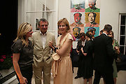 Gregor Ratibar and Julia Peyton-Jones, Party hosted by Sir Richard and Lady Ruth Rogers at their house in Chelsea  to celebrate the extraordinary achievement of completing this year's Pavilion  by Olafur Eliasson and Kjetil Thorsenat at the Serpentine.  13 September 2007. -DO NOT ARCHIVE-© Copyright Photograph by Dafydd Jones. 248 Clapham Rd. London SW9 0PZ. Tel 0207 820 0771. www.dafjones.com.