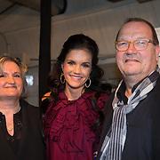 NLD/Amsterdam/20131204 - Presentatie Kerst Playboy met Marly van der Velden, Marly van der Velden met haar ouders