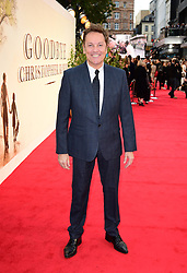 Brian Conley attending the world premiere of Goodbye Christopher Robin at the Odeon in Leicester Square, London. See PA story SHOWBIZ Goodbye. Picture Date: Wednesday 20 September. Photo credit should read: Ian West/PA Wire