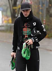 21.11.2010, Trainingsgelaende Werder Bremen, Bremen, GER, 1. FBL, Training Werder Bremen, im Bild Dominik Schmidt (Bremen #41)   EXPA Pictures © 2010, PhotoCredit: EXPA/ nph/  Frisch****** out ouf GER ******
