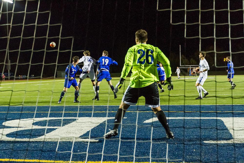 in goal Cam Clouse