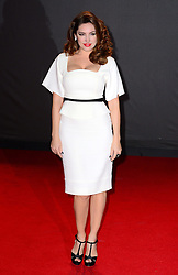 Kelly Brook at the British Fashion Awards in London, Monday, 2nd December 2013. Picture by Nils Jorgensen / i-Images