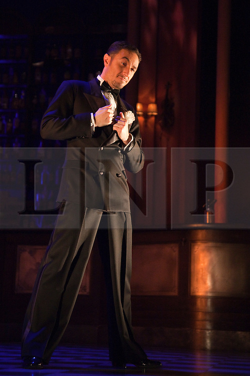 """© Licensed to London News Pictures. 30/01/2012. London, England. Pictured: Vincent Simone.  """"Midnight Tango"""" with """"Strictly Come Dancing"""" Stars Flavia Cacace and Vincent Simone opens at the Aldwych Theatre, London. Photo credit: Bettina Strenske/LNP"""