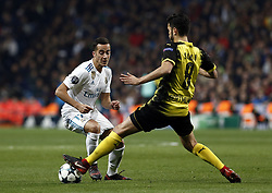 December 6, 2017 - Madrid, Spain - Lucas Vazquez of Real Madrid during the UEFA Champions League group H match between Real Madrid and Borussia Dortmund at Santiago Bernabéu. (Credit Image: © Manu_reino/SOPA via ZUMA Wire)