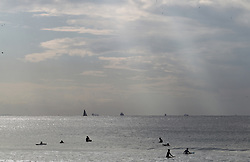 South Africa - Durban - 16 June 2020 - Surfers are allowed back at the beaches in Durban as from Tuesday the 16th of June 2020<br /> Picture: Doctor Ngcobo/African News Agency(ANA)
