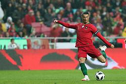 June 7, 2018 - Lisbon, Portugal - Portugal's forward Cristiano Ronaldo in action during the FIFA World Cup Russia 2018 preparation football match Portugal vs Algeria, at the Luz stadium in Lisbon, Portugal, on June 7, 2018. (Portugal won 3-0) (Credit Image: © Pedro Fiuza/NurPhoto via ZUMA Press)