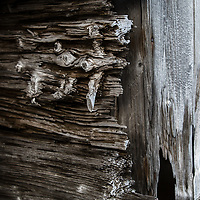 'The Struggle' - Deception Island, Antarctica<br /> <br /> Timbers from the original whaling station quarters construction weather against the salty, wet and cold condition of Antarctica.