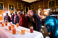 members of the public visiting a marmalade festival