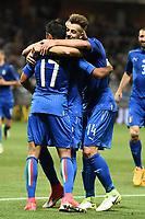 Nice (Francia) 07-06-2017 Stadio Allianz Riviera Friendly match Italia - Uruguay / Italy - Uruguay foto Image Sport/Insidefoto<br /> nella foto: esultanza gol Eder Goal celebration with Stephan El Shaarawy