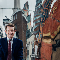Birmingham City Centre - Andy Street ex chief at John Lewis will be entering the race to become Mayor of Birmingham in May