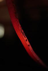 THEMENBILD - ein glühender Stahlstab aufgenommen am 12. Mai 2017 in Bruck an der Grossglocknerstrasse, Österreich // A glowing steel rod on 2017/05/12, Bruck an der Grossglocknerstrasse, Austria. EXPA Pictures © 2017, PhotoCredit: EXPA/ JFK