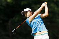 Bildnummer: 14021066  Datum: 18.07.2013  Copyright: imago/Icon SMI<br /> 18 July 2013: Amateur Lydia Ko, of New Zeeland, watches her tee shot on the 12th hole during the first round of the inaugural LPGA Golf Damen Marathon Classic presented by Owens Corning and Owens-Illinois at Highland Meadows Golf Club in Sylvania, Ohio. GOLF: JUL 18 LPGA Golf Damen - Marathon Classic - First Round <br /> Norway only