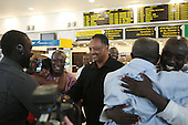 Rev. Jesse Jackson secures the release of US CItizens held as Prisoners from the Gambia