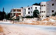 Buildings in Jerusalem. Arab homes on Mt. of Olives Road 1956