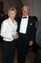 LORD & LADY BAKER OF DORKING at a dinner attended by the Conservative leader Michael Howard and David Davis and David Cameron held at the Banqueting Hall, Whitehall, London on 29th November 2005.<br /><br />NON EXCLUSIVE - WORLD RIGHTS