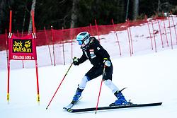 Meta Hrovat of Slovenia during the Ladies' GiantSlalom at 56th Golden Fox event at Audi FIS Ski World Cup 2019/20, on February 15, 2020 in Podkoren, Kranjska Gora, Slovenia. Photo by Morgan Kristan / Sportida