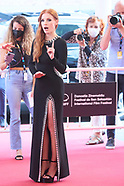 092421 69th San Sebastian International Film Festival: 'The Eyes of Tammy Faye' Red Carpet