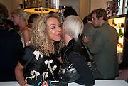 ZOE KNIGHT; EMMA GRIFFITHS, Wolf & Badger - pop-up store launch party. Wonder Room, Selfridges, 13 August 2010. -DO NOT ARCHIVE-© Copyright Photograph by Dafydd Jones. 248 Clapham Rd. London SW9 0PZ. Tel 0207 820 0771. www.dafjones.com.