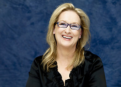 December 7, 2009 - Hollywood, California, U.S. - MERYL STREEP promotes 'It's Complicated.' Mary Louise 'Meryl' Streep (born June 22, 1949) is an American actress of stage and screen, and philanthropist. Streep is particularly known for her versatility in her roles, transformation into the characters she plays, and her accent adaptation. She made her professional stage debut in The Playboy of Seville in 1971, and in 1976 received a Tony Award nomination for Best Featured Actress in a Play for A Memory of Two Mondays/27 Wagons Full of Cotton. She made her screen debut in the 1977 television film The Deadliest Season, and made her film debut later that same year in Julia. In 1978, she won an Emmy Award for her role in the miniseries Holocaust, and received her first Academy Award nomination for The Deer Hunter. Nominated for 20 Academy Awards in total, Streep has more nominations than any other actor or actress; she won Best Supporting Actress for Kramer vs. Kramer (1979), and Best Actress for Sophie's Choice (1982) and The Iron Lady (2011). Streep is one of the six actors to have won three or more competitive Academy Awards for acting. Her other nominated roles are The French Lieutenant's Woman (1981), Silkwood (1983), Out of Africa (1985), Ironweed (1987), Evil Angels (1988), Postcards from the Edge (1990), The Bridges of Madison County (1995), One True Thing (1998), Music of the Heart (1999), Adaptation (2002), The Devil Wears Prada (2006), Doubt (2008), Julie & Julia (2009), August: Osage County (2013), Into the Woods (2014) and Florence Foster Jenkins (2016). She returned to the stage for the first time in over 20 years in The Public Theater's 2001 revival of The Seagull, won a second Emmy Award in 2004 for the HBO miniseries Angels in America (2003), and starred in the Public Theater's 2006 production of Mother Courage and Her Children. In 2017, Streep was awarded the Golden Globe Cecil B. DeMille Award. Upcoming:  Mary Poppins Returns (2018). (Credit Image:
