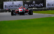 2012 British F3 International Series.Donington Park, Leicestershire, UK.27th - 30th September 2012.Hannes van Asseldonk, Fortec Motorsport..World Copyright: Jamey Price/LAT Photographic.ref: Digital Image Donington_F3-18264