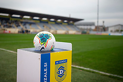 Official ball seen during football match between NK Domzale and NK Triglav in Round #18 of Prva liga Telekom Slovenije 2019/20, on November 23, 2019 in Sports park Domzale, Slovenia. Photo by Sinisa Kanizaj / Sportida